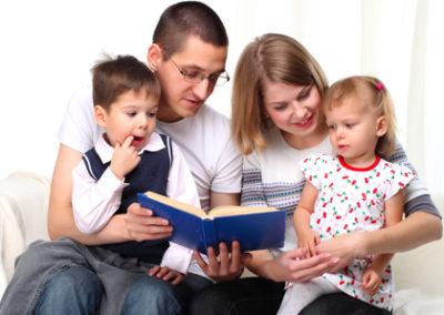 La Importancia de Leerle a Los Niños